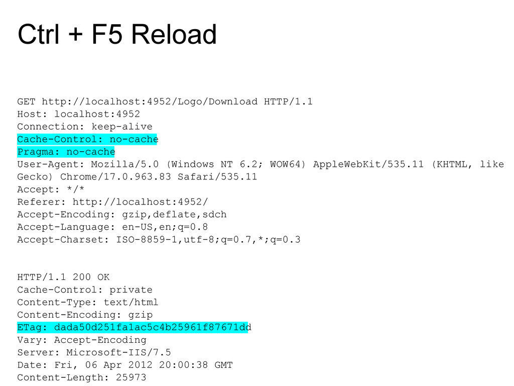 Ctrl + F5 Reload GET http://localhost:4952/Logo...