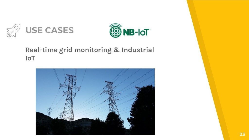 USE CASES Real-time grid monitoring & Industria...