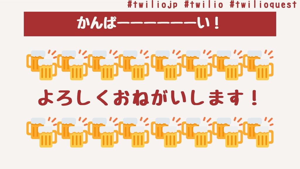 かんぱーーーーーーい! よろしくおねがいします! #twiliojp#twilio#twi...