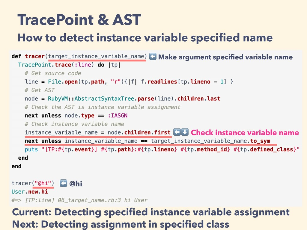 TracePoint & AST How to detect instance variabl...