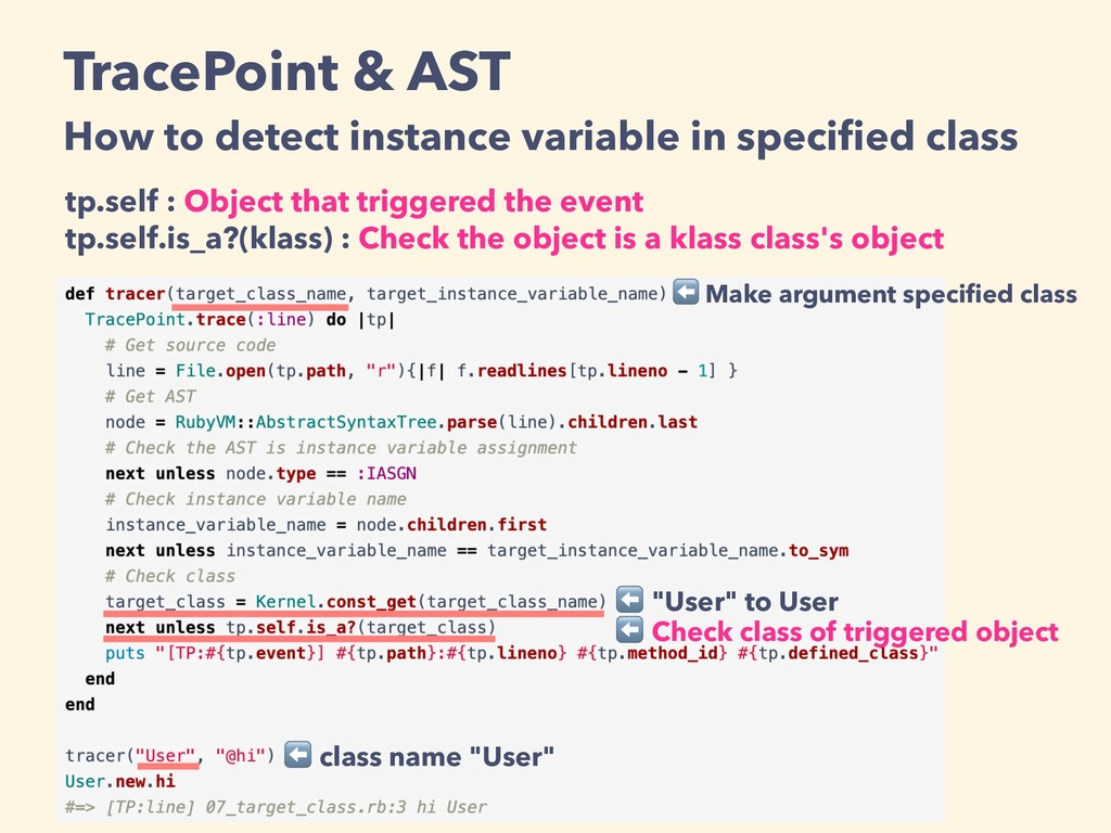 tp.self : Object that triggered the event tp.se...