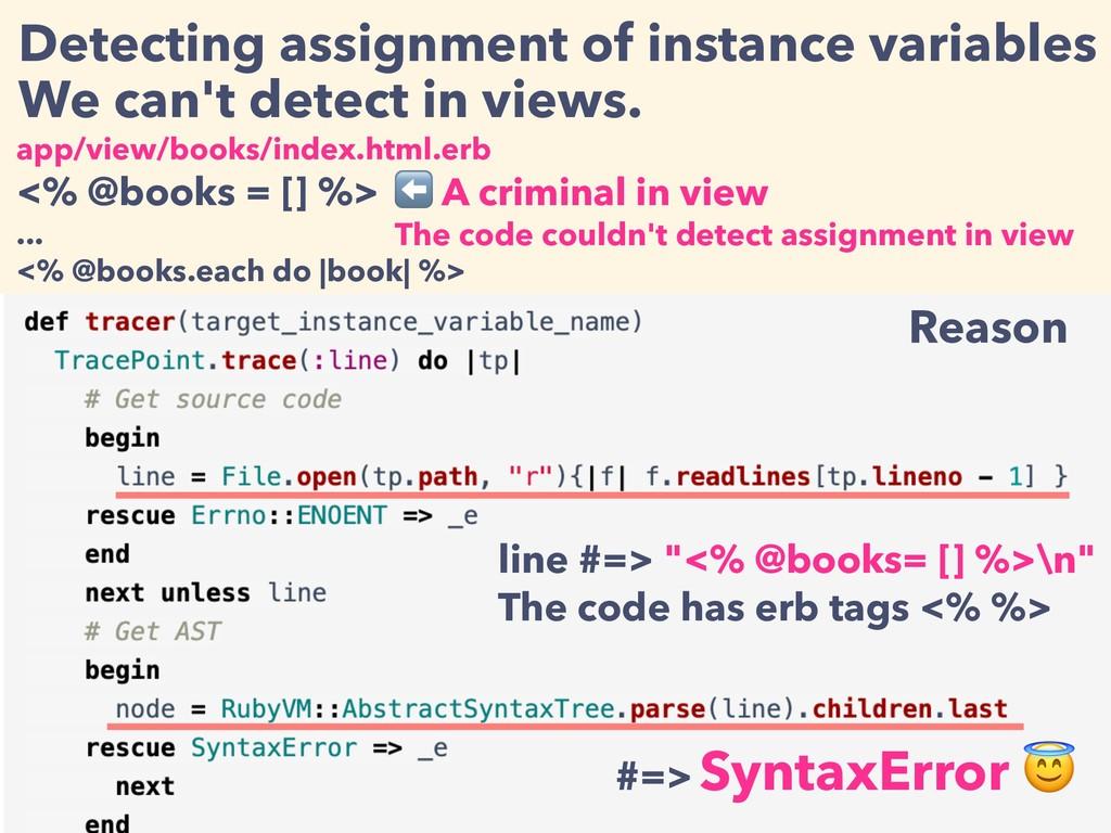 app/view/books/index.html.erb <% @books = [] %>...