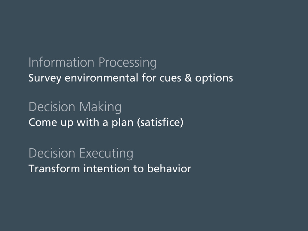 Information Processing Survey environmental for...