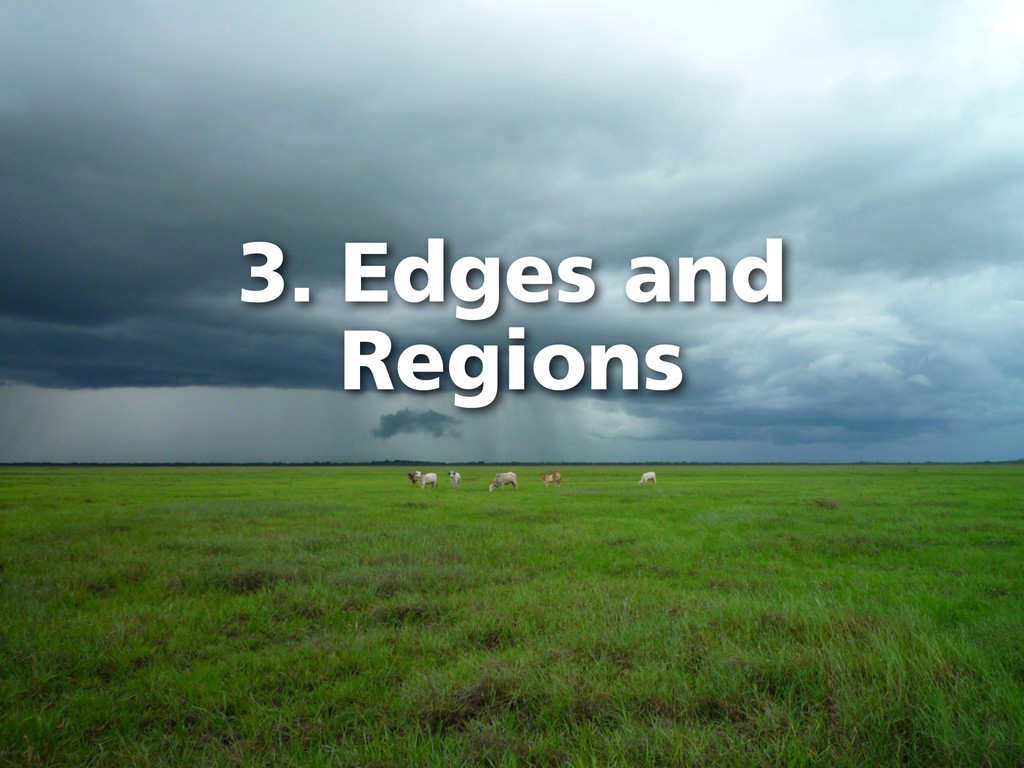 3. Edges and Regions