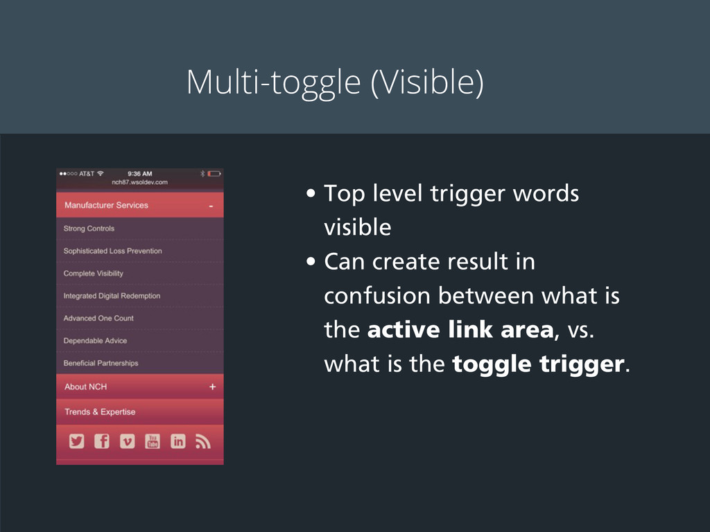 Multi-toggle (Visible) • Top level trigger word...