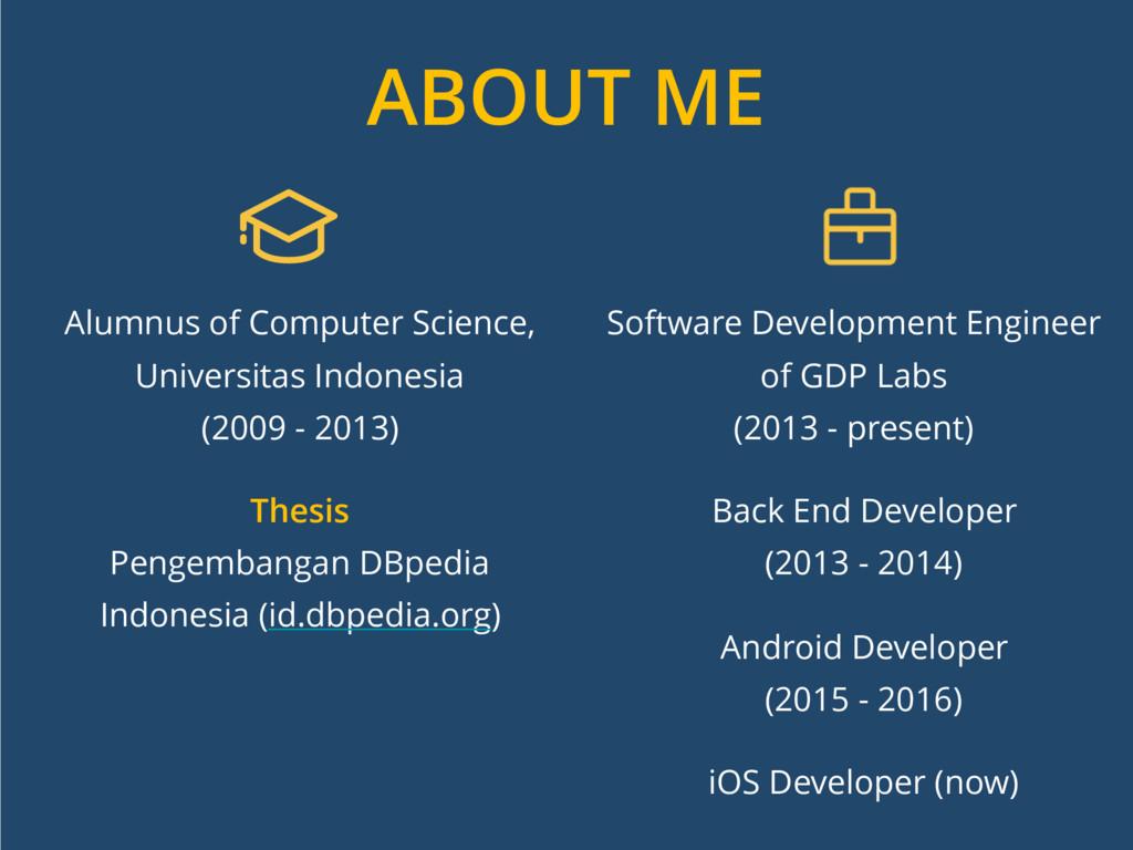 Alumnus of Computer Science, Universitas Indone...