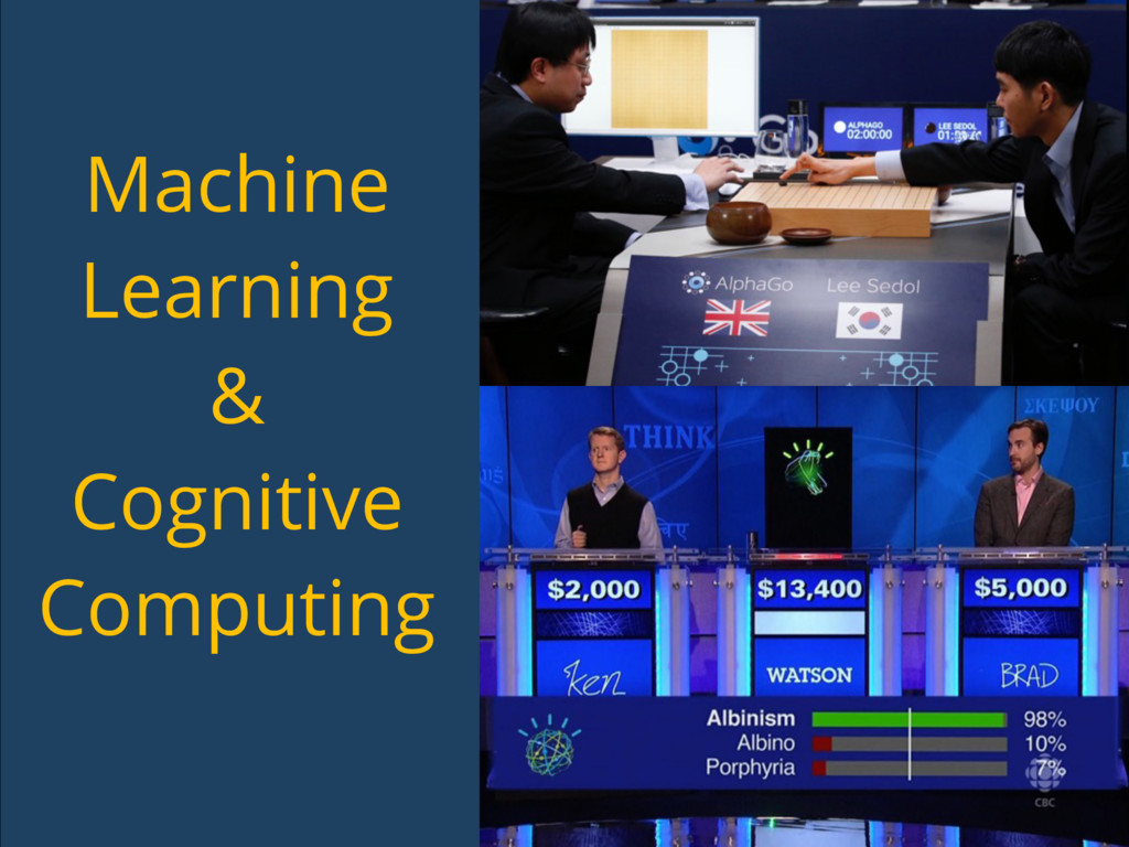 Machine Learning & Cognitive Computing