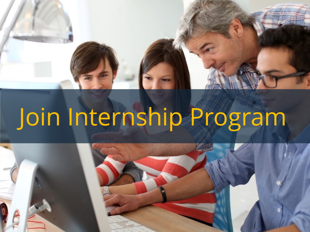 Join Internship Program