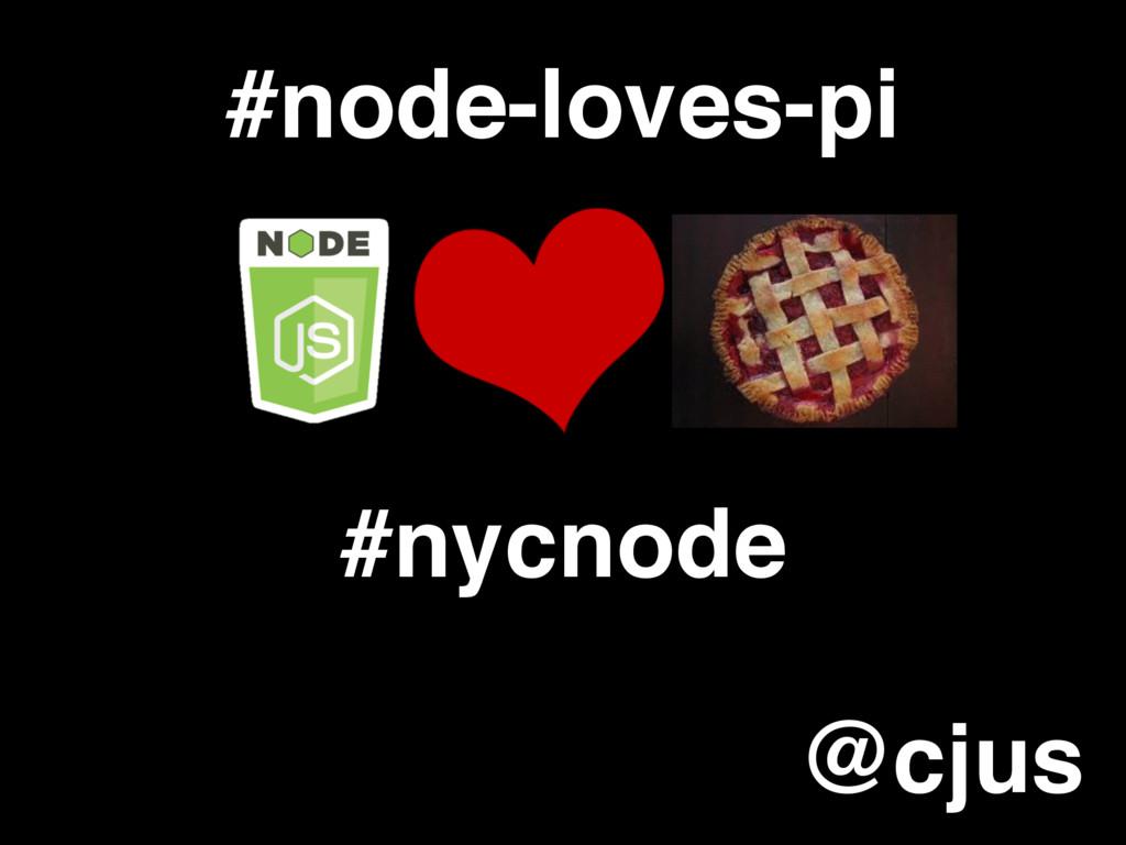 #node-loves-pi #nycnode @cjus