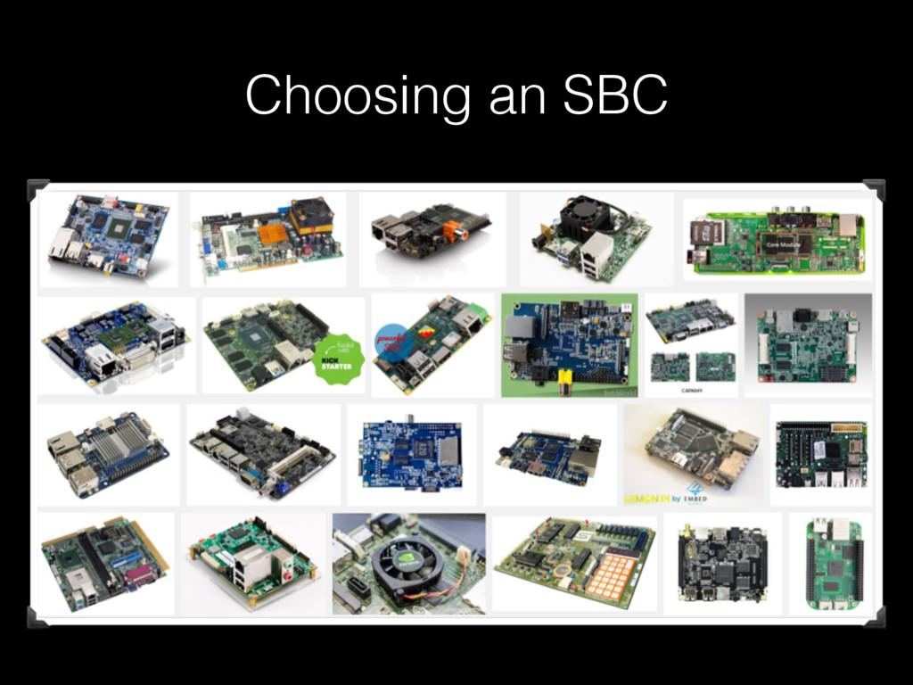 Choosing an SBC