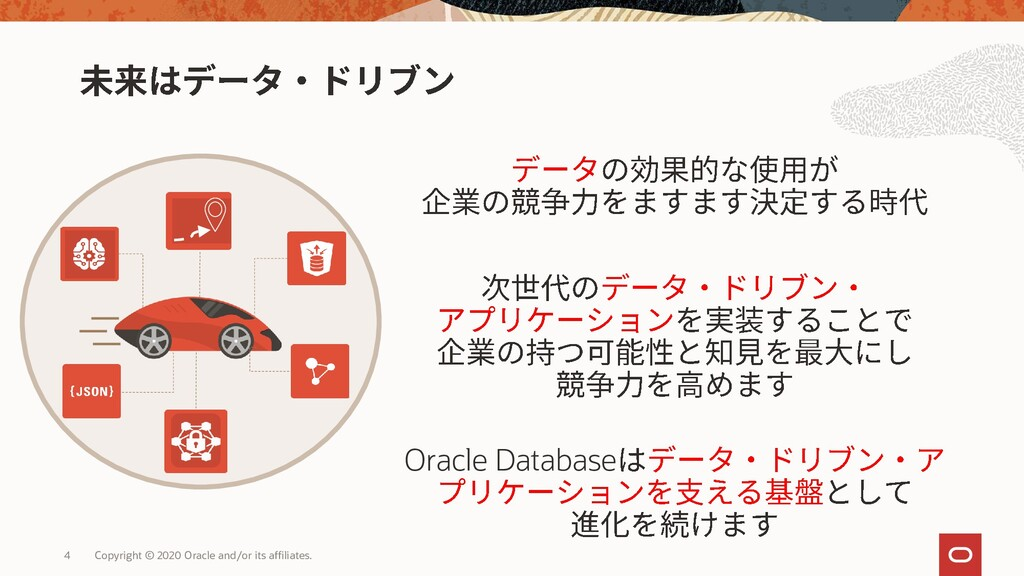 Oracle Database 4 Copyright © 2020 Oracle and/o...