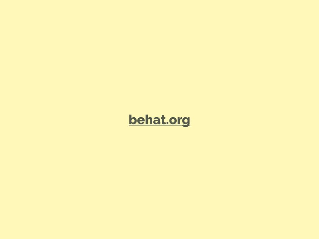 behat.org