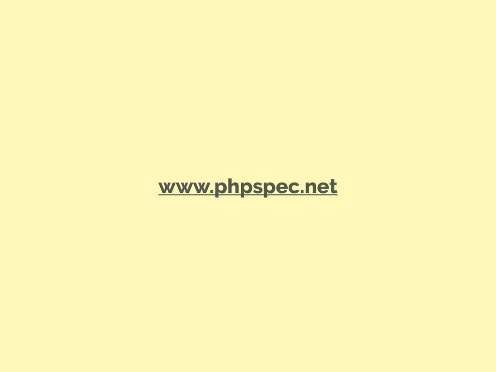 www.phpspec.net