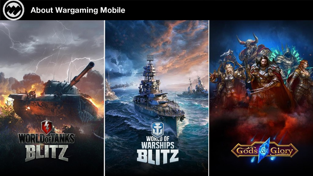SLIDE About Wargaming Mobile 4