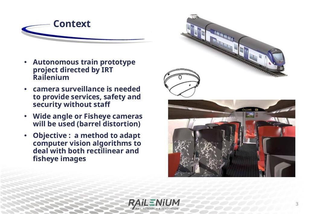 • Autonomous train prototype project directed b...