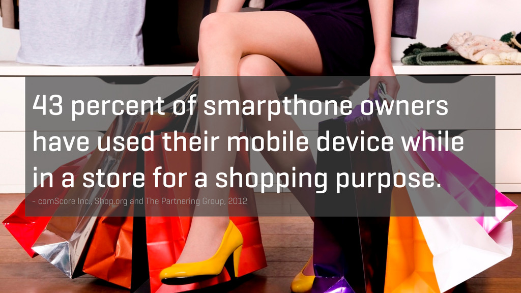 43 percent of smarpthone owners have used their...