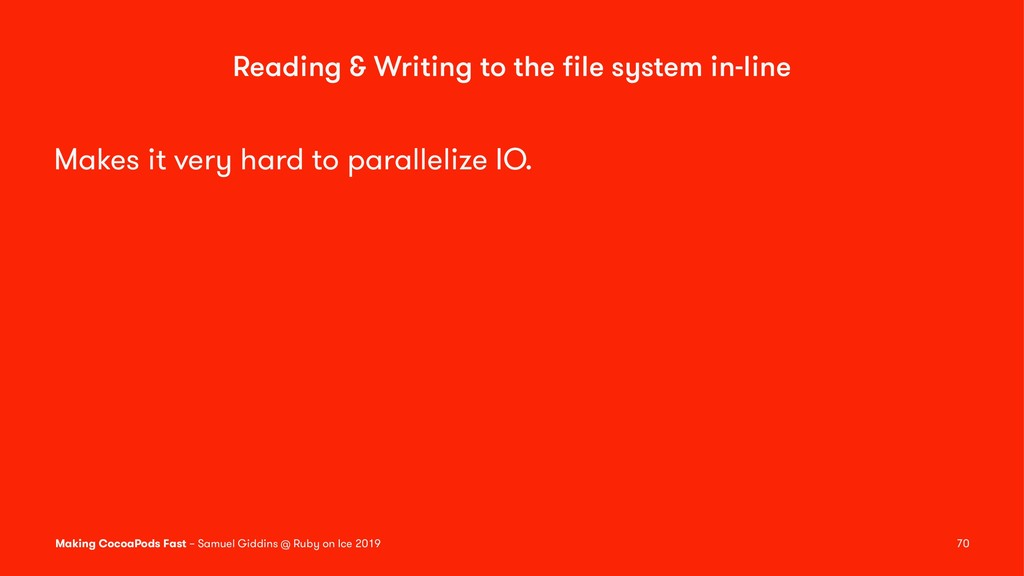 Reading & Writing to the file system in-line Mak...