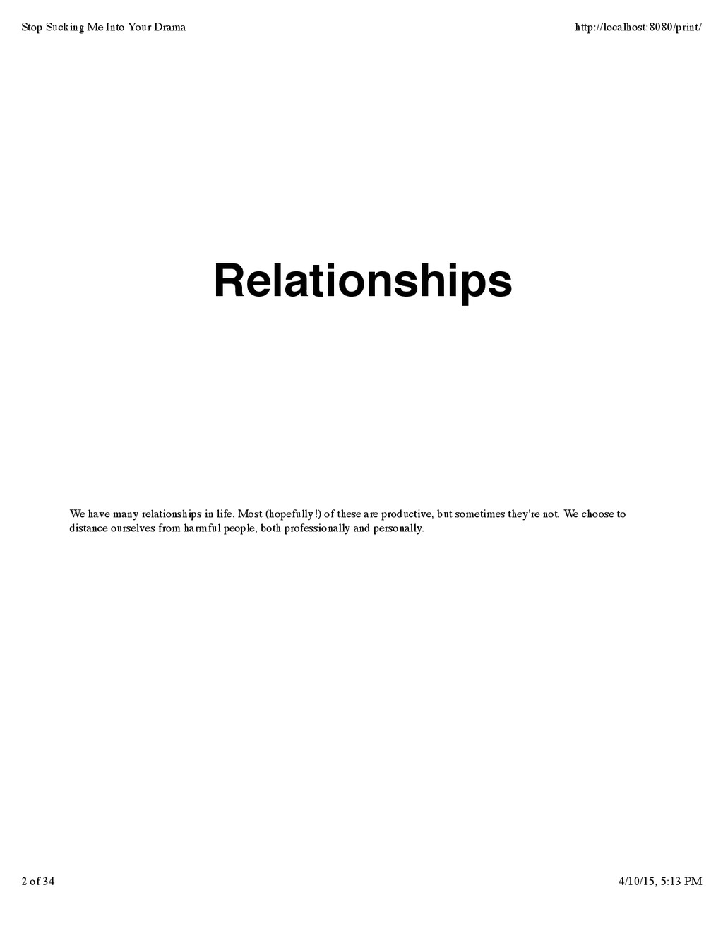 We have many relationships in life. Most (hopef...