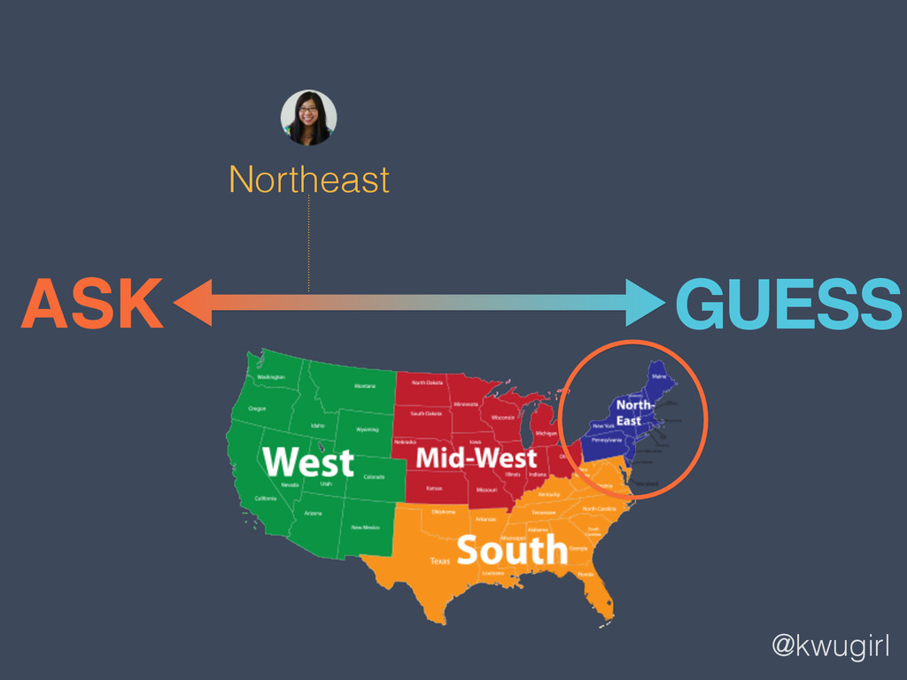 @kwugirl ASK GUESS Northeast