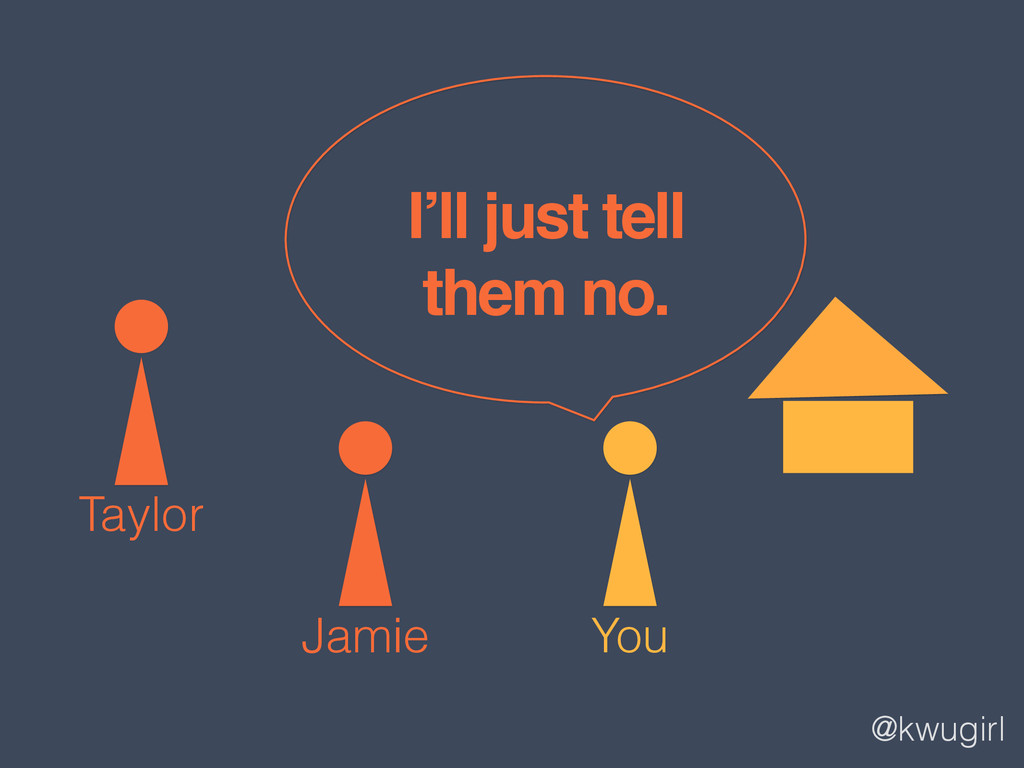 @kwugirl You Jamie Taylor I'll just tell ! them...