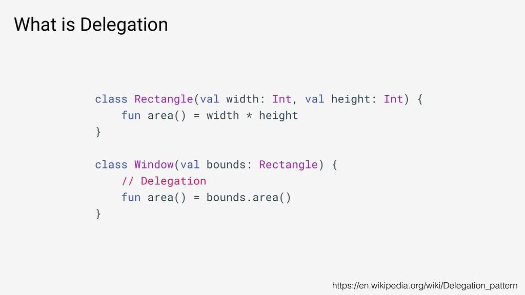 What is Delegation https://en.wikipedia.org/wik...