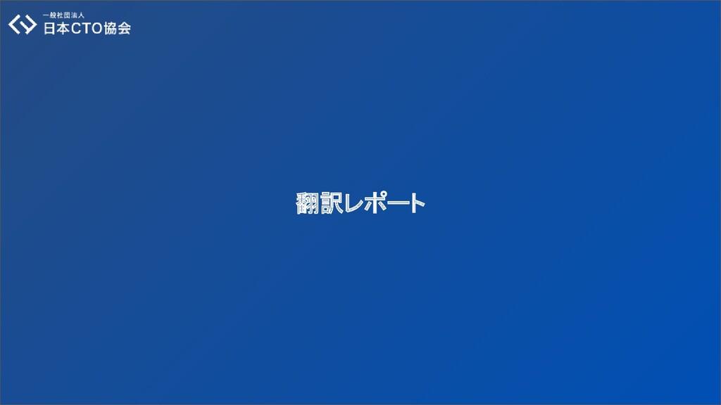 翻訳レポート