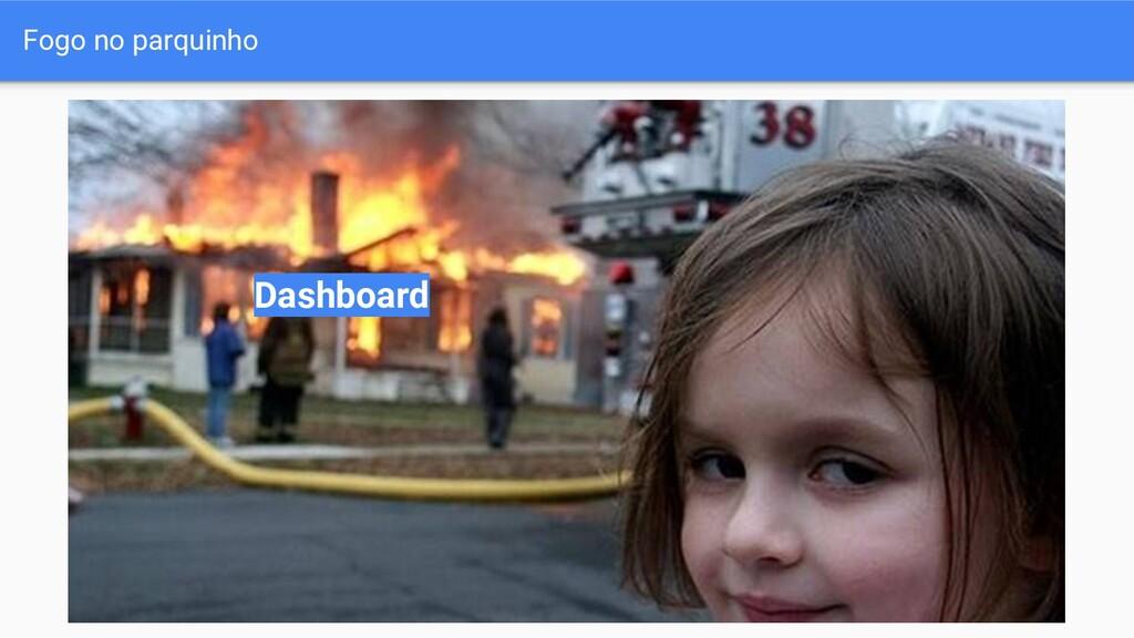 Fogo no parquinho Dashboard