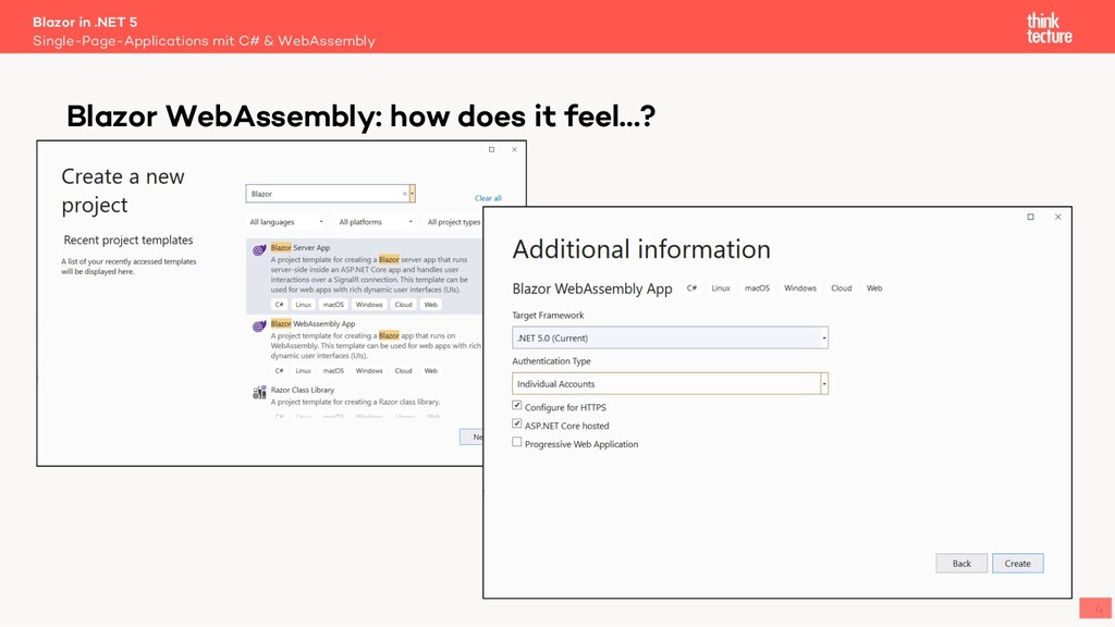 4 Blazor in .NET 5 Single-Page-Applications mit...