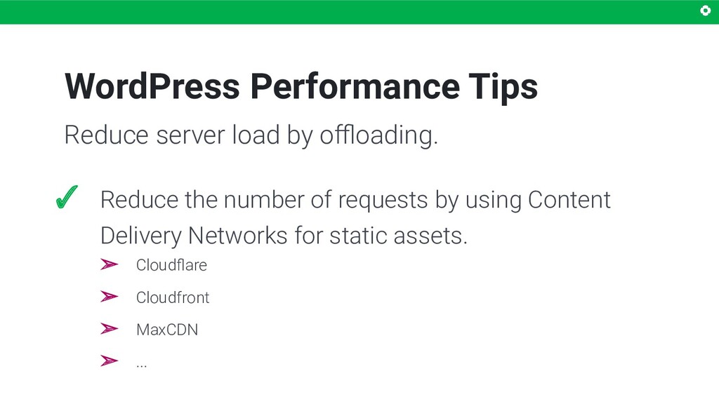 WordPress Performance Tips ✓ Reduce the number ...