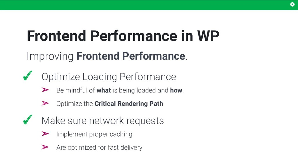 Frontend Performance in WP ✓ Optimize Loading P...
