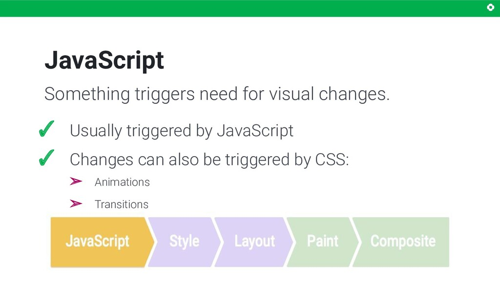 JavaScript Something triggers need for visual c...