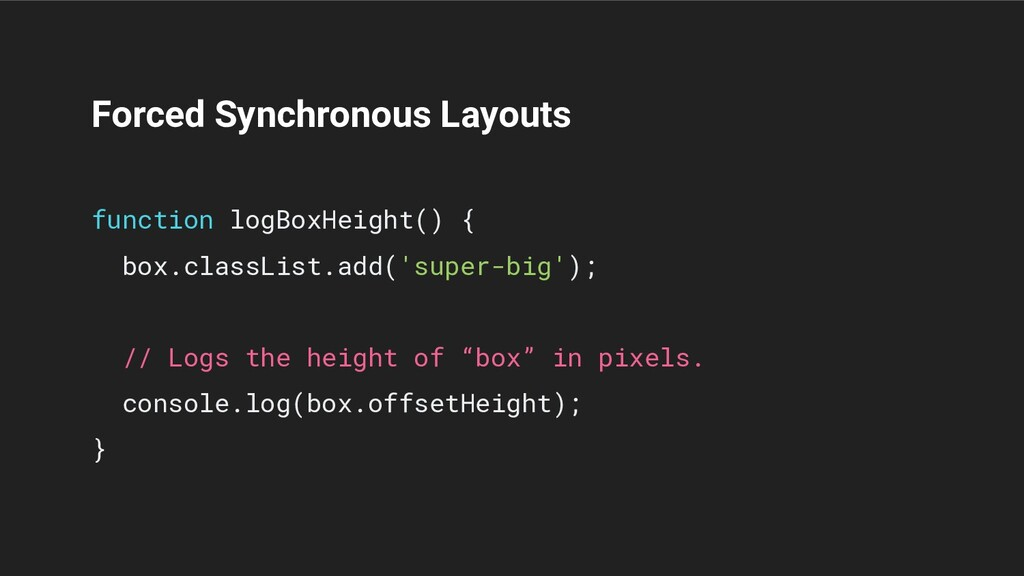Forced Synchronous Layouts function logBoxHeigh...