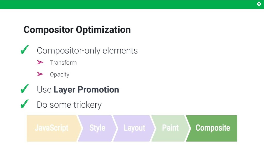 Compositor Optimization ✓ Compositor-only eleme...