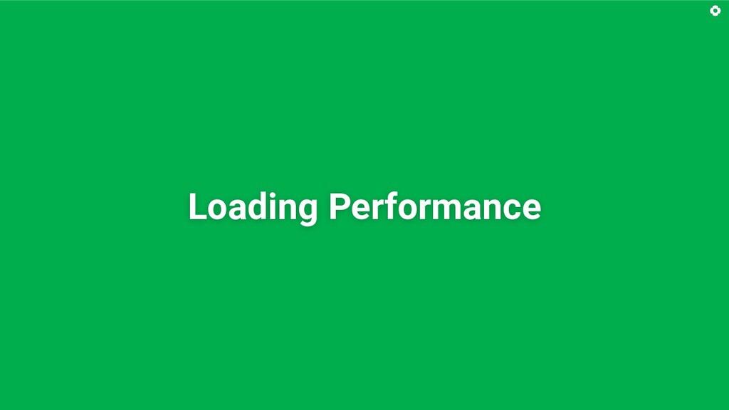 Loading Performance