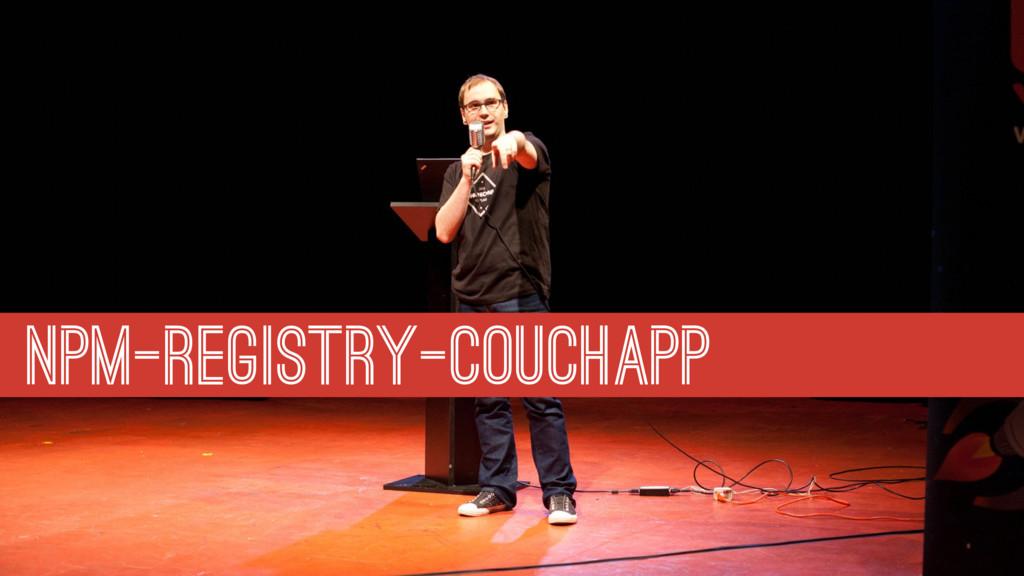 NPM-REGISTRY-COUCHAPP