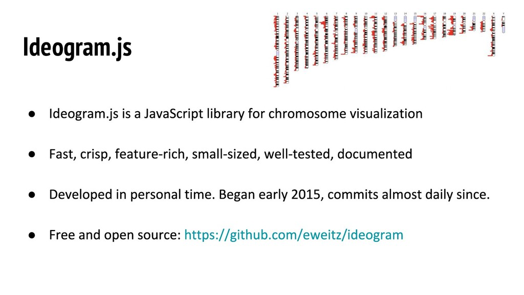 Ideogram.js ● ● ● ●