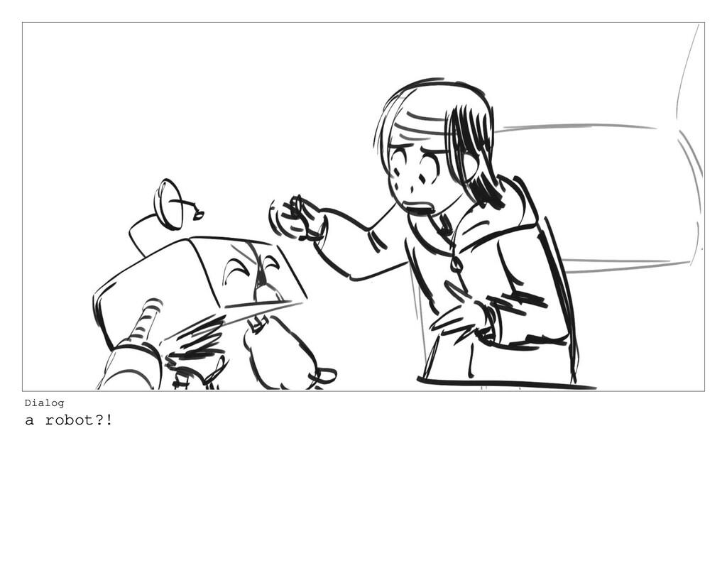 Dialog a robot?!