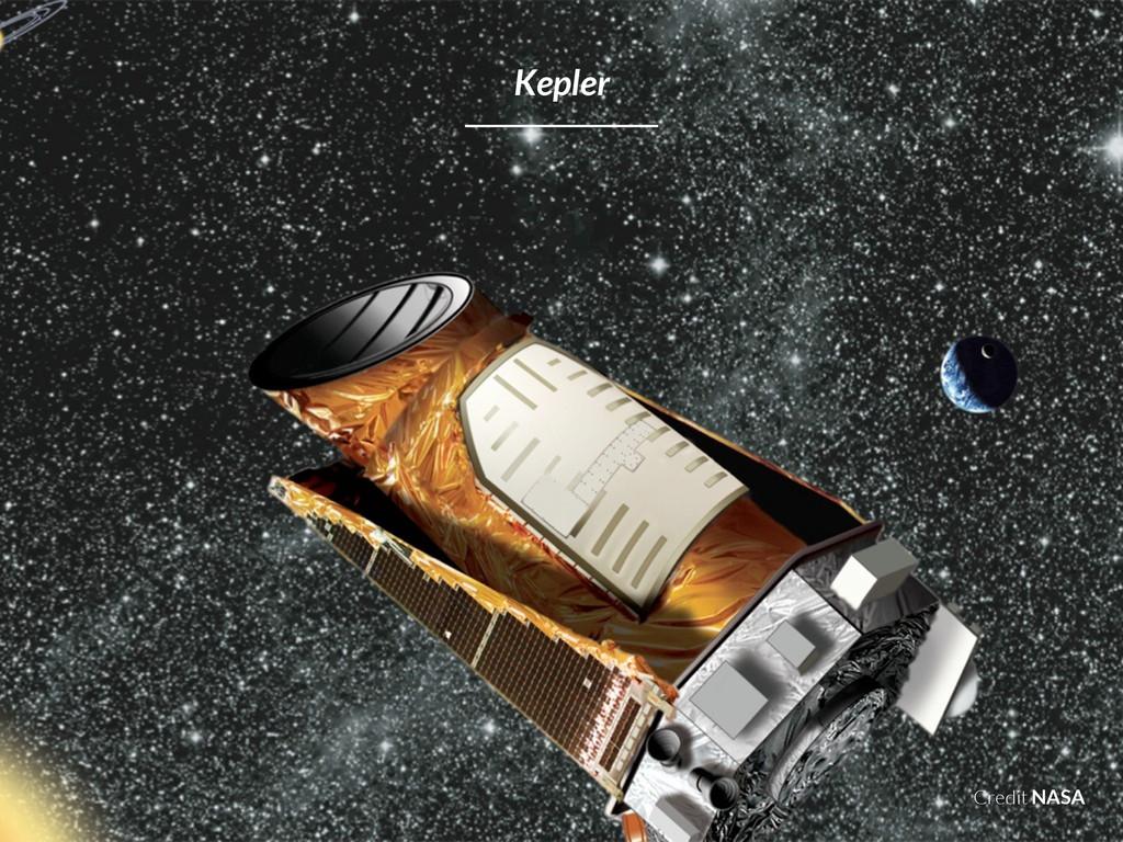 Credit NASA Kepler