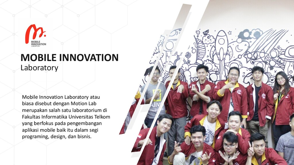 MOBILE INNOVATION Mobile Innovation Laboratory ...
