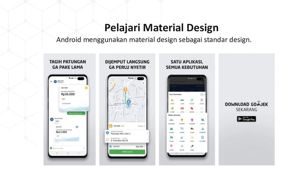 Pelajari Material Design Android menggunakan ma...