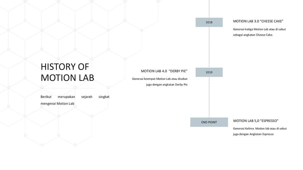 Generasi keempat Motion Lab atau disebut juga d...