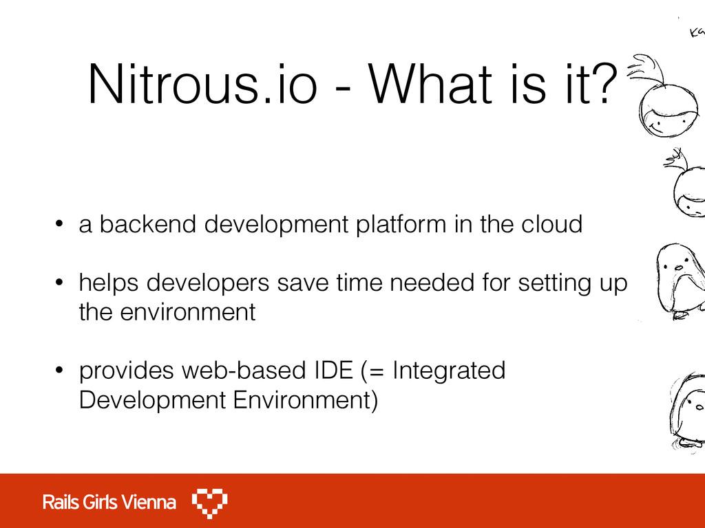 Nitrous.io - What is it? • a backend developmen...