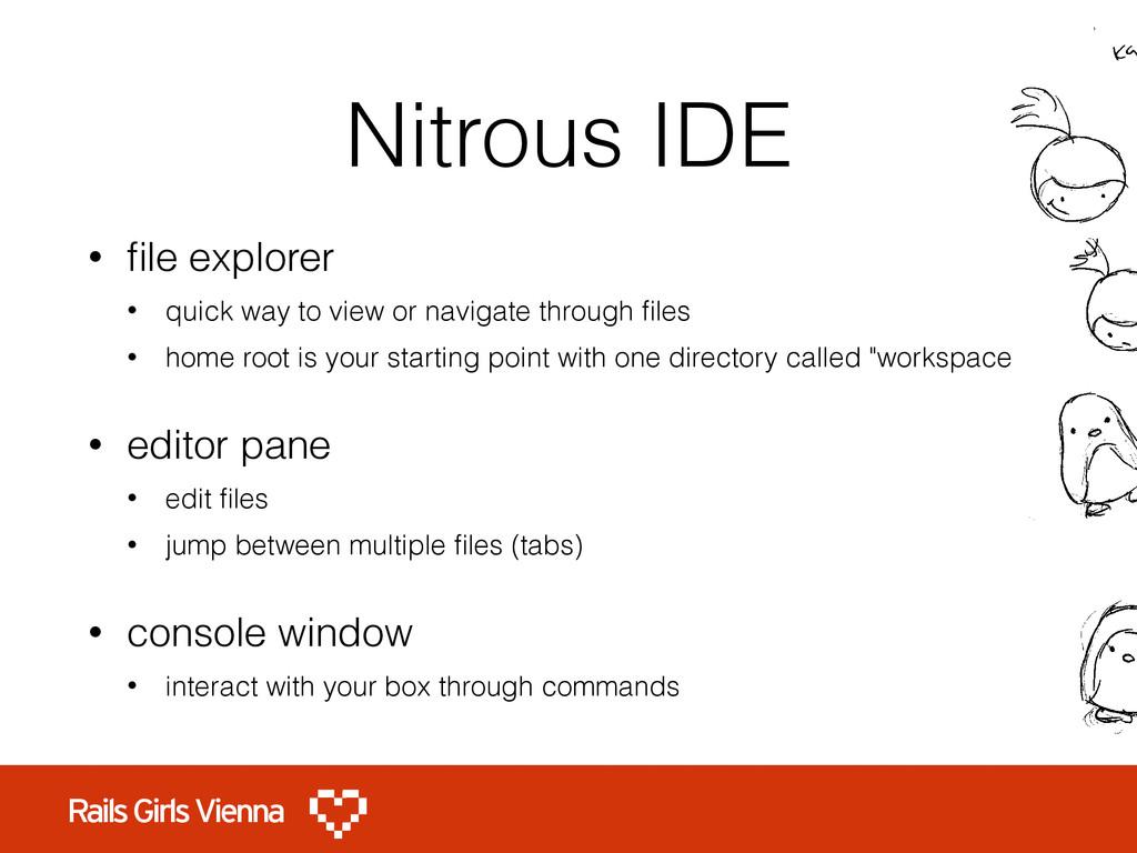 Nitrous IDE • file explorer • quick way to view ...