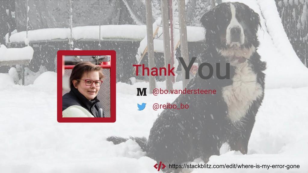 Thank You @reibo_bo @bo.vandersteene https://st...