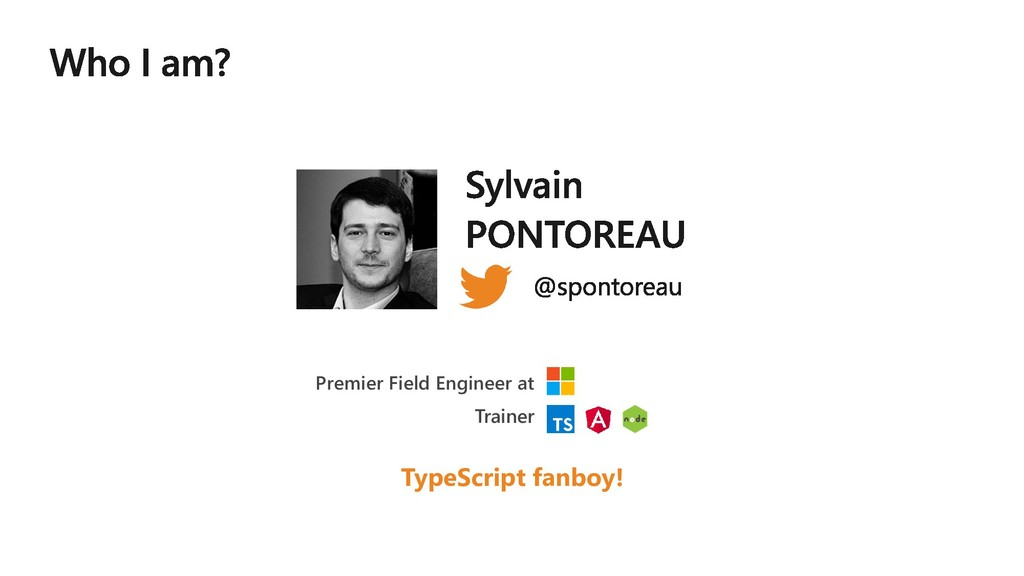 Premier Field Engineer at Trainer TypeScript fa...