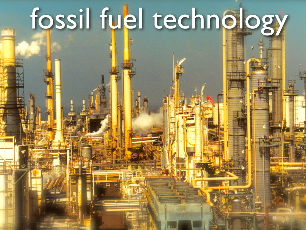 fossil fuel technology