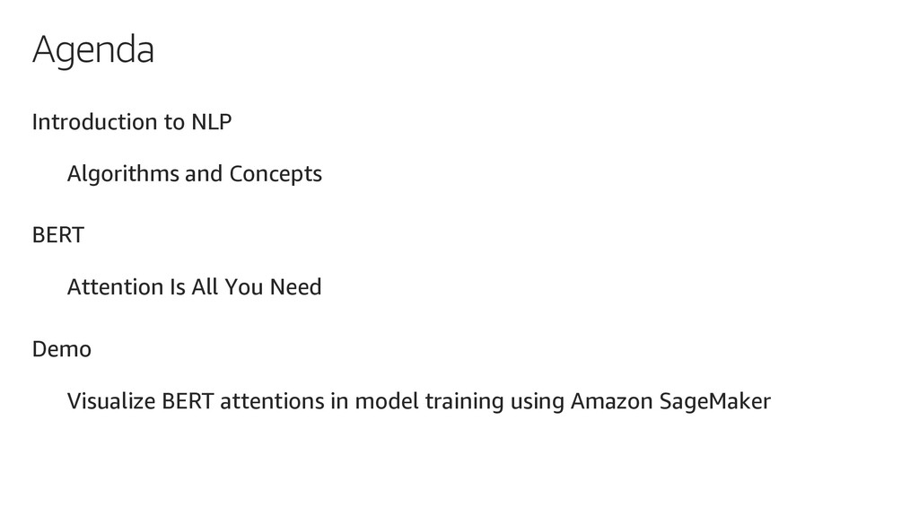 Agenda Introduction to NLP Algorithms and Conce...