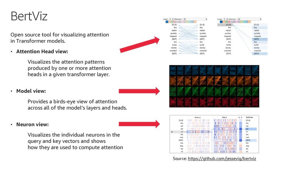 BertViz Open source tool for visualizing attent...