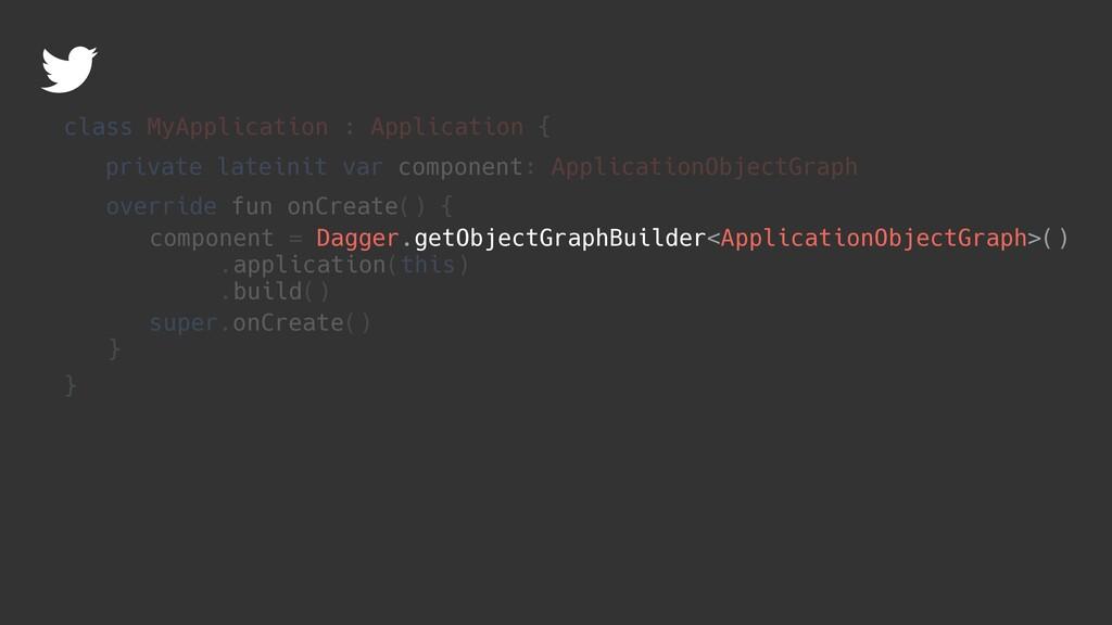 Dagger.getObjectGraphBuilder<ApplicationObjectG...