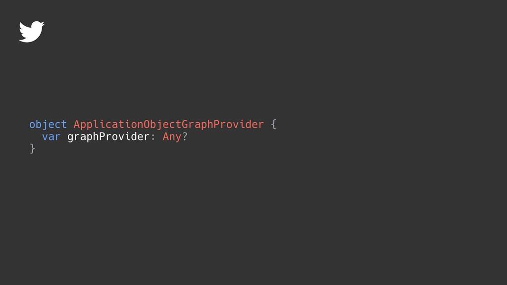 object ApplicationObjectGraphProvider { var gra...